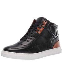 Steve Madden - Sharper Leather Hi-top Sneaker - Lyst