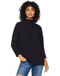 French Connection - Millie Mozart Solid Knits Cotton Sweaters - Lyst