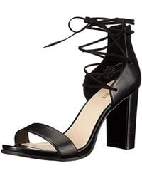 Nine West - Punton Synthetic Heeled Sandal - Lyst
