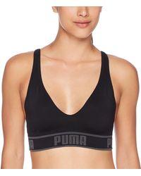 PUMA Solstice Seamless Sports Bra Bra - Black