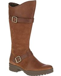 Merrell City Leaf Tall Snow Boot - Brown