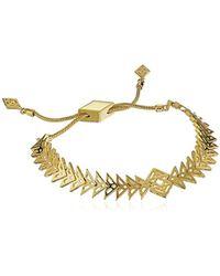 Noir Jewelry - Inca Strand Bracelet - Lyst