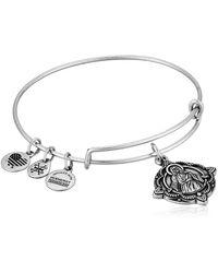 ALEX AND ANI - Jesus Ewb Rafaelian Silver Bangle Bracelet - Lyst