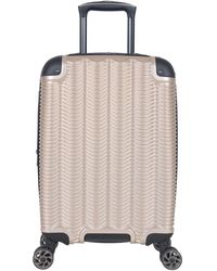 """Kenneth Cole Reaction Wave Rush 20"""" Lightweight Hardside 8-wheel Spinner Expandable Carry-on Suitcase - Multicolor"""
