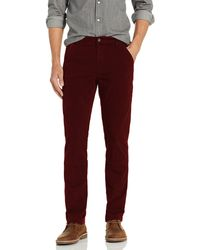 Goodthreads Slim-Fit Carpenter Pant Casual-Pants - Rosso