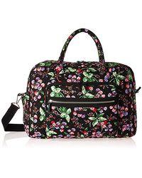Vera Bradley Signature Cotton Weekender Travel Bag - Multicolor