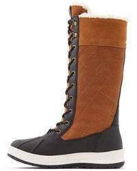 ALDO Kozy Warm Winter Boots Waterproof - Brown