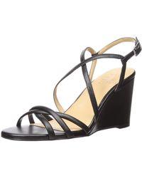 Naturalizer Kelsi Wedge Sandal - Black