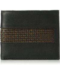 Tommy Bahama 100% Leather Slimfold Wallet - Black