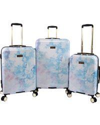 Juicy Couture Sadie 3-piece Hardside Spinner Luggage Set - Purple