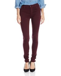 James Jeans Twiggy Black Red