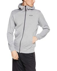 Oakley Enhance Technical Fleece Jacket.Grid 8.7 Giacca - Grigio