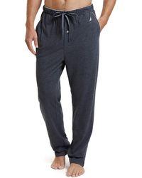 Nautica Soft Woven 100% Cotton Elastic Waistband Sleep Pajama Pant - Gray