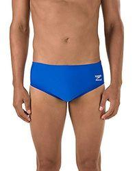 Speedo - S Endurance+ Solid Brief Swimsuit - Lyst
