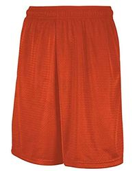 Russell Athletic Mesh Short With Pockets - Orange