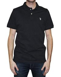 0a78292a Lyst - Diesel Contrast Logo Polo Shirt in White for Men