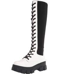 Circus by Sam Edelman Womens Dinah Knee High Boot White 5