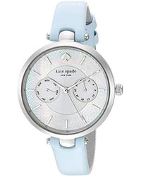 63eb695c7f8 Kate Spade -  holland  Quartz Stainless Steel And Leather Casual Watch