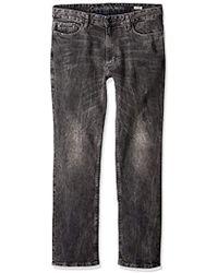 6f790cb2ea356 Lyst - Calvin Klein Landscape Straight Leg Jeans in Blue for Men