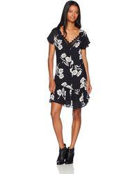 Volcom Slipinslide Allover Print Dress - Black