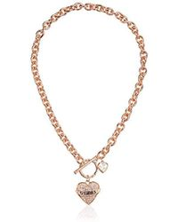Women S Guess Necklaces From 15 Lyst