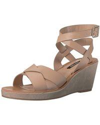 Kensie - Venezia Wedge Sandal - Lyst