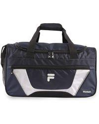 Fila Cannon 3 Small Duffel Gym Sports Bag - Blue