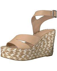 Sigerson Morrison Arien Espadrille Wedge Sandal - Multicolor