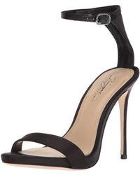 Imagine Vince Camuto Dacia Heeled Sandal - Black