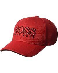 828903f71 BOSS Boss Cap 15 in White for Men - Lyst