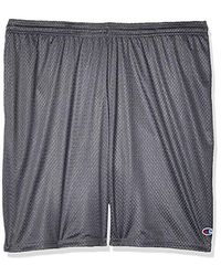 Champion - Long Mesh Shorts With Pockets - Lyst