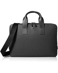 Lacoste Chantaco Computer Bag, Nh2181ce - Black