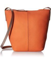 Ecco Jilin Bucket Bag - Orange