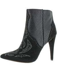 BCBGMAXAZRIA Jazleen Bootie Ankle Boot - Black