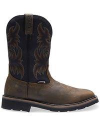 e2a63984809 Lyst - Wolverine Rancher Square Steel Toe 10