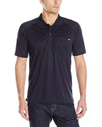 Caterpillar Hi-vis T-shirt (regular And Big & Tall Sizes) - Blue
