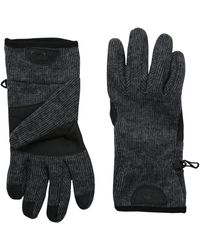 Timberland Ribbed Knit Wool Blend Glove With Touchscreen Technology - Gray