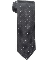 Kenneth Cole Reaction Multi Dot Tie - Black