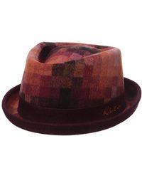 Robert Graham Headwear Delevan Fedora - Multicolor