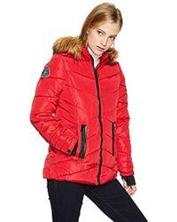 e064f4600 Nylon Puffer Jacket - Red