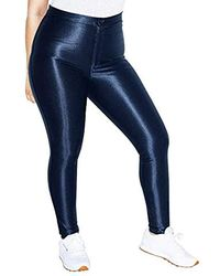 American Apparel The Disco Pant - Blue