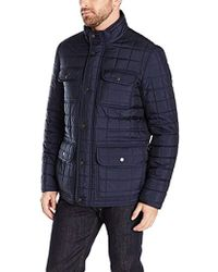 Tommy Hilfiger - Four Pocket Box Quilted Military Jacket - Lyst