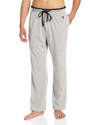 U.S. POLO ASSN. - Solid Sleep Pant With Contrast Trim - Lyst