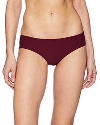 Vince Camuto - Shirred Smooth Bikini Bottom Swimsuit - Lyst
