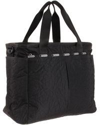 LeSportsac Ryan 7532s2 Diaper Bag,poof,one Size - Black