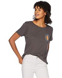 O'neill Sportswear - H Eyes Screen Print Tee Shirt, - Lyst