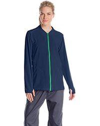 Carhartt - Cross-flex Knit Mix Zip-front Scrub Jacket - Lyst