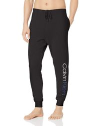 Calvin Klein Immerge French Terry Jogger - Black