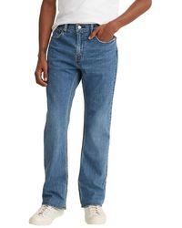 Levi's 527 Jean slim coupe Bootcut Fit pour homme Fremont Cafe Taille M 36 x 32 l - Bleu