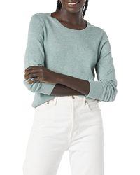 Amazon Essentials Lightweight Crewneck Sweater Suéter - Verde